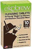 Ekobrew 40202 10 Count Ekobrew Cleaning Tablets, White by ekobrew