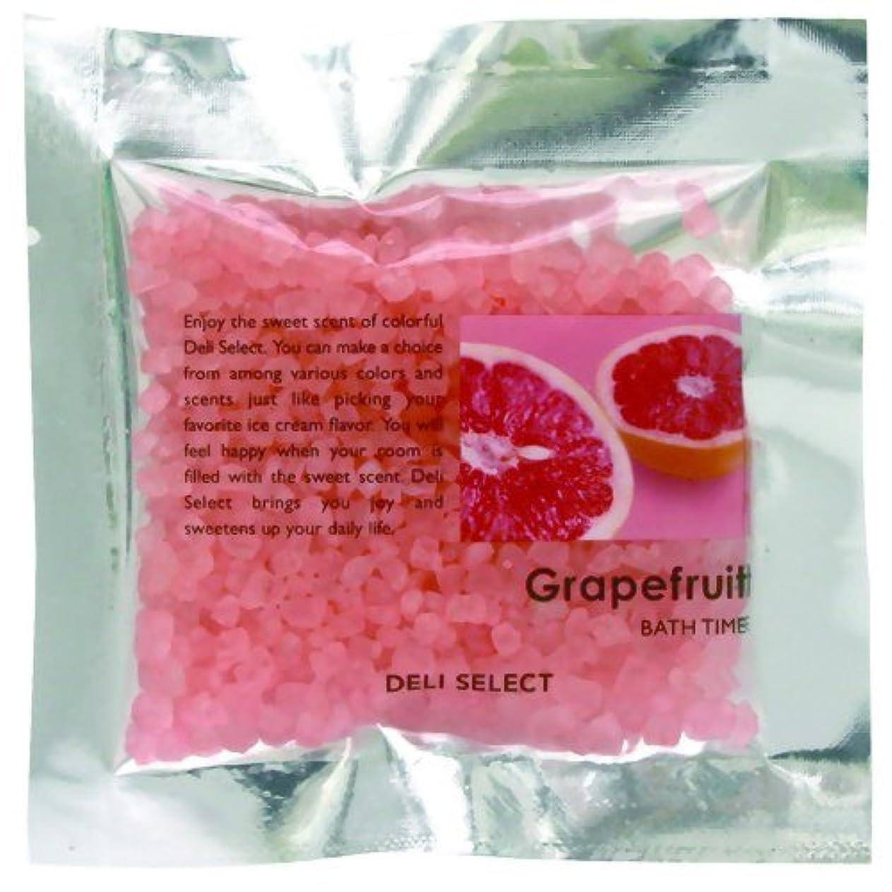 ブルパシフィック眉デリセレクト バスソルト分包 グレープフルーツ 30g