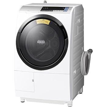 日立 ドラム式洗濯乾燥機 ビッグドラム 左開き 11kg シルバー BD-SV110BL S