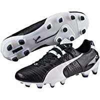 PUMA Men's King Ii Fg Blk-Wht, Black, Football Boots