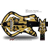 Leopard Skin Decal Style Skin - fits Warriors Of Rock Guitar Hero Guitar (GUITAR NOT INCLUDED) by WraptorSkinz [並行輸入品]