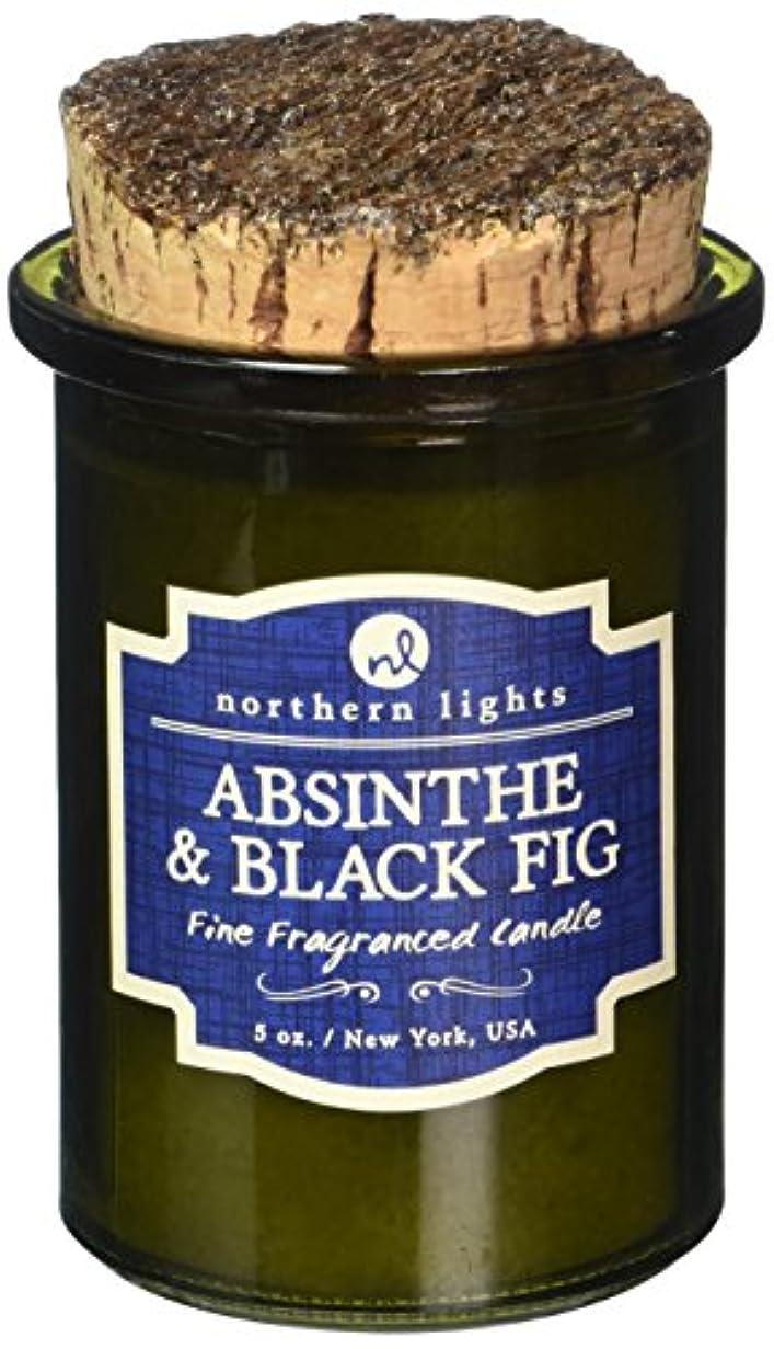 多様なかわいらしいきらめくNorthern lights Candles スピリットジャーキャンドル アブサン&ブラックフィグ NLS52603