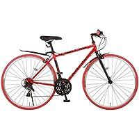 NEXTYLE(ネクスタイル) 700Cクロスバイク シマノ製21段変速 NX-7021 前後フェンダー付き 【スカイブルー/ブラック/ホワイト/レッド 4色】