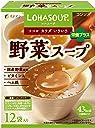 ファイン 野菜スープ コンソメタイプ 食物繊維 ヘム鉄配合×12袋