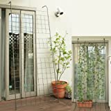 グリーンカーテンやローズフェンスに アイアンウォールフェンス 高さ225cm×幅90cm JK-1218HTS