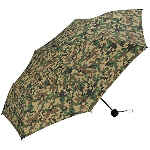 WPC 【男女兼用】大判折りたたみ傘(モザイクカモフラージュ)【ZZ/**】