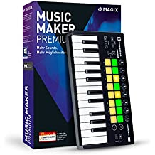 MAGIX Music Maker – 2017 Performer Edition – The full music production package: Music editing program and USB pad controller