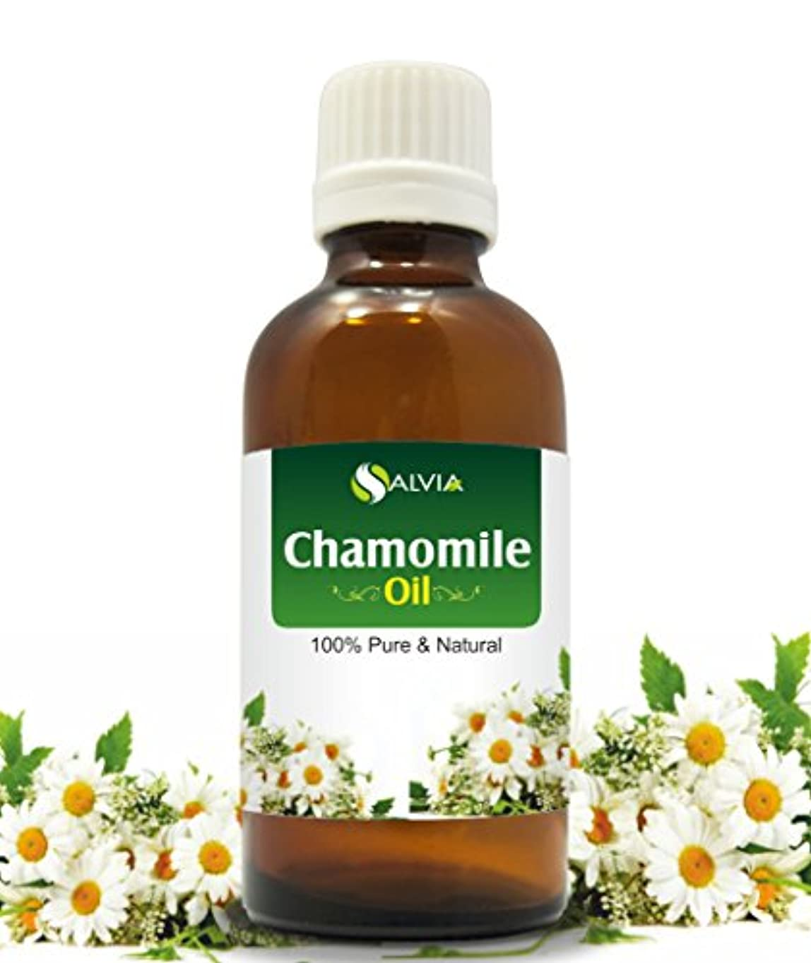 うまくいけばビルダー口実CHAMOMILE OIL 100% NATURAL PURE UNDILUTED UNCUT ESSENTIAL OIL 100ML