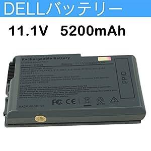 Dell ノートパソコン Latitude D520 D530 D600 D610 対応 6cell 11.1V 5200mAh 交換バッテリー 並行輸入品