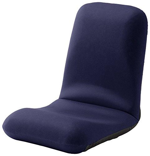 セルタン 和楽チェアL 腰楽座椅子 メッシュブルー A453-505BL