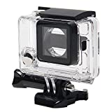 niceEshop(TM) Clear View Skeleton Open Side Protective Housing Case With Lens for Gopro 3+ and Gopro 4 [並行輸入品]