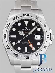 ロレックス ROLEX エクスプローラーII 216570 ブラック [並行輸入品]