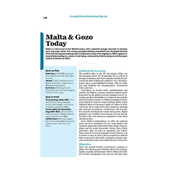 Lonely Planet Malta & ...の紹介画像21