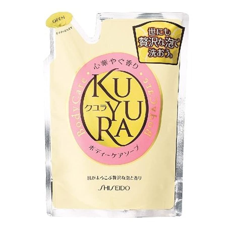 メンバー禁止する多年生クユラ ボディケアソープ 心華やぐ香り つめかえ用400ml