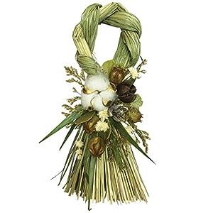 丸和貿易 おしゃれ モダン Style 迎春 リース 正月 玄関 飾り A A 4008592-01