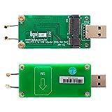 U0401A V1.0a : 4G/LTE無線通mPCIeモジュール用USBポート直挿型アダプタ(1.5GHz/2GHz帯アンテナ付) ver1.0a  4G/LTEモデムなどのUSB接続のmPCIe/MiniCard型無線通信モジュールをUSBポートで利用可能。ケーブルののないモジュールタイプなので、簡易的な利用や動作確認に最適。本体基板に2GHz帯および1.5GHz帯のアンテナ搭載、本体接続済みのIPX/U.FLコネクタでmPCIeモジュールのアンテナコネクタに接続すれば、基地局に接続可能。mPCIeモジュール下にSIMカードスロットを配置、プッシュ・プル式でSIMカードを安定して配置可能。mPCIeスロットはフルサイズに対応、別売のmetal baffleを利用すればハーフサイズのmPCIeモジュールも利用可能。LED搭載で通信状態が目視確認できます。ECLINKおよびユニ・ブリッジ取扱品はビープラス・テクノロジー / Bplus Technology経由の純正品・正規品です。
