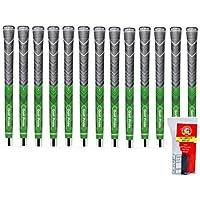 ゴルフプライドMCCプラス4標準グリーン – 13 Pieceグリップキット