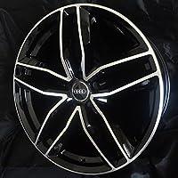 (アウディ) AUDI対応 20インチホイール (エーイチイチキューロク) A1196 インセット+42mm ポリッシュ/ブラック