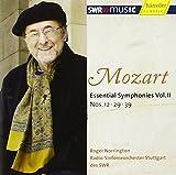 モーツァルト : 交響曲 第12番、第29番、第39番 (Mozart : Essential Symphonies Vol. II ~ No.12, 29, 39 / Roger Norrington, Radio-Sinfonieorchester Stuttgart des SWR) [輸入盤]