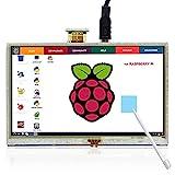 ELECROW 5インチ HDMI ディスプレイ モニター 800x480解像度 タッチスクリーン タッチパネル Raspberry Pi/Banana Pi対応