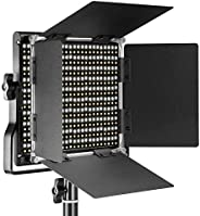 Neewer Professional Metal Bi-color LED Video Light for Studio, YouTube, Product Photography, Video Shooting, D