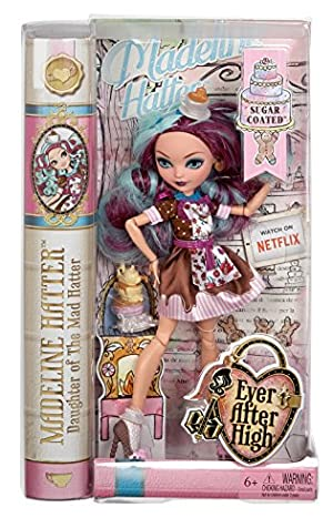 [エバーアフターハイ]Ever After High Sugar Coated Madeline Hatter Doll CHW45 [並行輸入品]