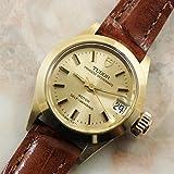 チュードル TUDOR レディース プリンセスオイスターデイト ゴールドカラー アンティーク時計 自動巻き 1972年 [並行輸入品]