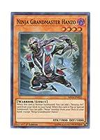 遊戯王 英語版 SHVA-EN022 Ninja Grandmaster Hanzo 忍者マスター HANZO (スーパーレア) 1st Edition