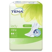 Tena Lady Mini Towels 20 per pack (Pack of 6) - パックあたりテナ婦人ミニタオル20 x6 [並行輸入品]