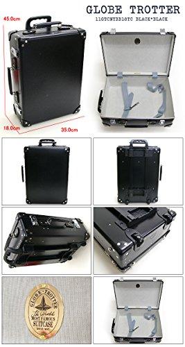 (グローブトロッター) GLOBE TROTTER スーツケース CENTENARY センテナリー 18インチ 28L 2輪トローリー (ブラック×ブラック) 11GTCNTBB18TC BLACK*BLACK[平行輸入品]