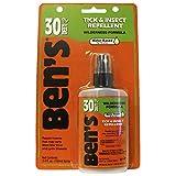 ベンズ 30% ディート ティック&虫除け 100ml Ben's 30% DEET Tick & Insect Repellent 3.4 oz 並行輸入品