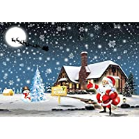 Fineser(TM) 5D Christmas Diamond Rhinestone Pasted Embroidery Painting Cross Stitch Home Decor O