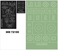Montexマキシマスク1 : 72 h.p. Halifax for Revell 04670 Spraying Stencil # mm72190
