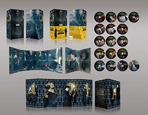 【Amazon.co.jp限定】SHERLOCK/シャーロック ベイカー・ストリート 221B エディション(A3ポスター5枚セット付き) [DVD]