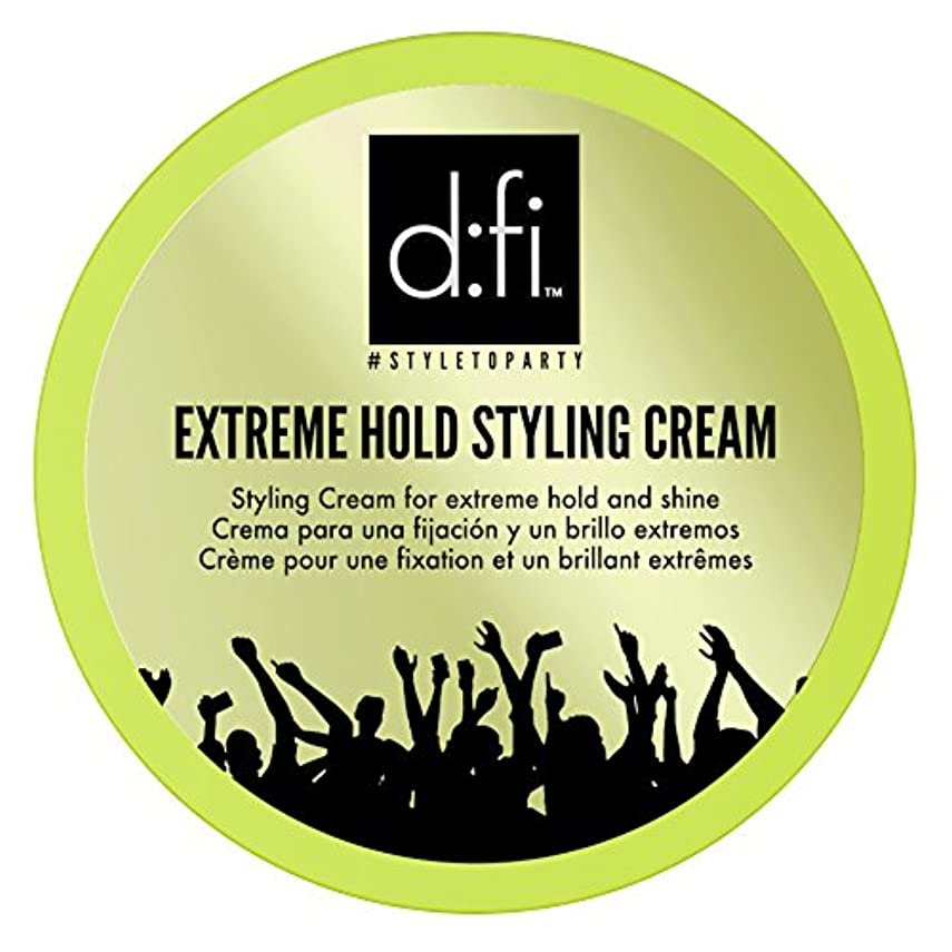 施し塩辛い信号D:fi Extreme Hold Styling Cream 75g