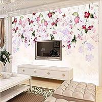 Weaeo カスタム3D写真壁の壁画レトロの壁紙ソファのテレビの壁の壁画リビングルームの家の壁の壁紙の壁紙の3D-400X280Cm
