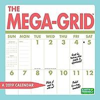 Megaグリッド壁カレンダー、ビッググリッドby Zebra発行
