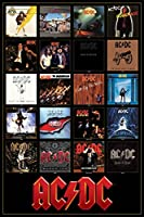 Poster - AC/DC - Discography Wall Art Licensed Gifts Toys 241335
