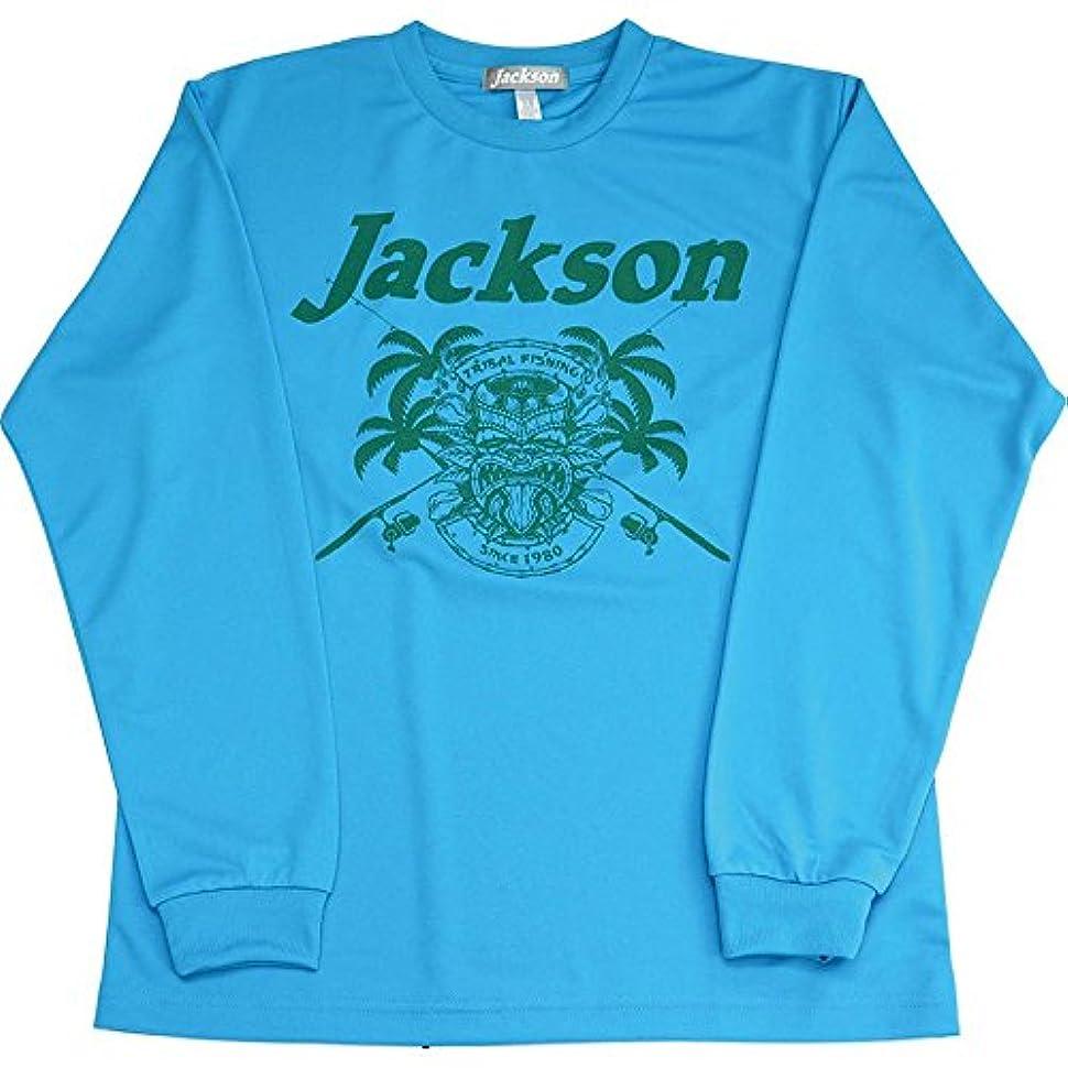 Jackson(ジャクソン) Tシャツ トロピカル ロングドライ S ライトブルー