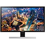 "Samsung 28"" Wide, TN, 3840x2160 UHD~2ms, 170/160 Viewing Angle, 1B Colours, 60Hz Refresh Rate, 75x75 VESA, Display Port, 2xHDMI, Headphone"