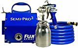 Fuji Spray(フジスプレー) HVLP低圧温風塗装機Semi-PRO2吸い上げ式スプレーガンセット 2202 (1.3mm)