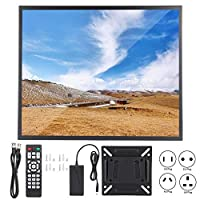 Zopsc 19in Touch Screen Monitor 1280x1024 4:3 Widescreen Multipoint Mode Capacitive Touch Screen, Full Interface Industrial Monitor, VGA/HDMI, Wall-Mounted Installation(US)