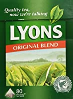 Lyons Original Irish Tea. 80 Bags by Lyons