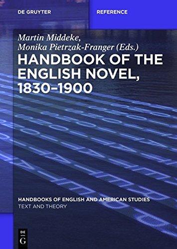 Handbook of the English Novel, 1830–1900 (Handbooks of English and American Studies)