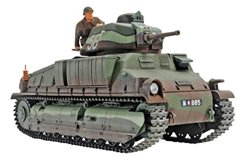 タミヤ 1/35 ミリタリーミニチュアシリーズ No.344 フランス陸軍 中戦車 ソミュア S35 プラモデル 35344