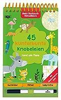 Mein Ruckzuck-Raetselblock: 45 kunterbunte Knobeleien rund um Tiere