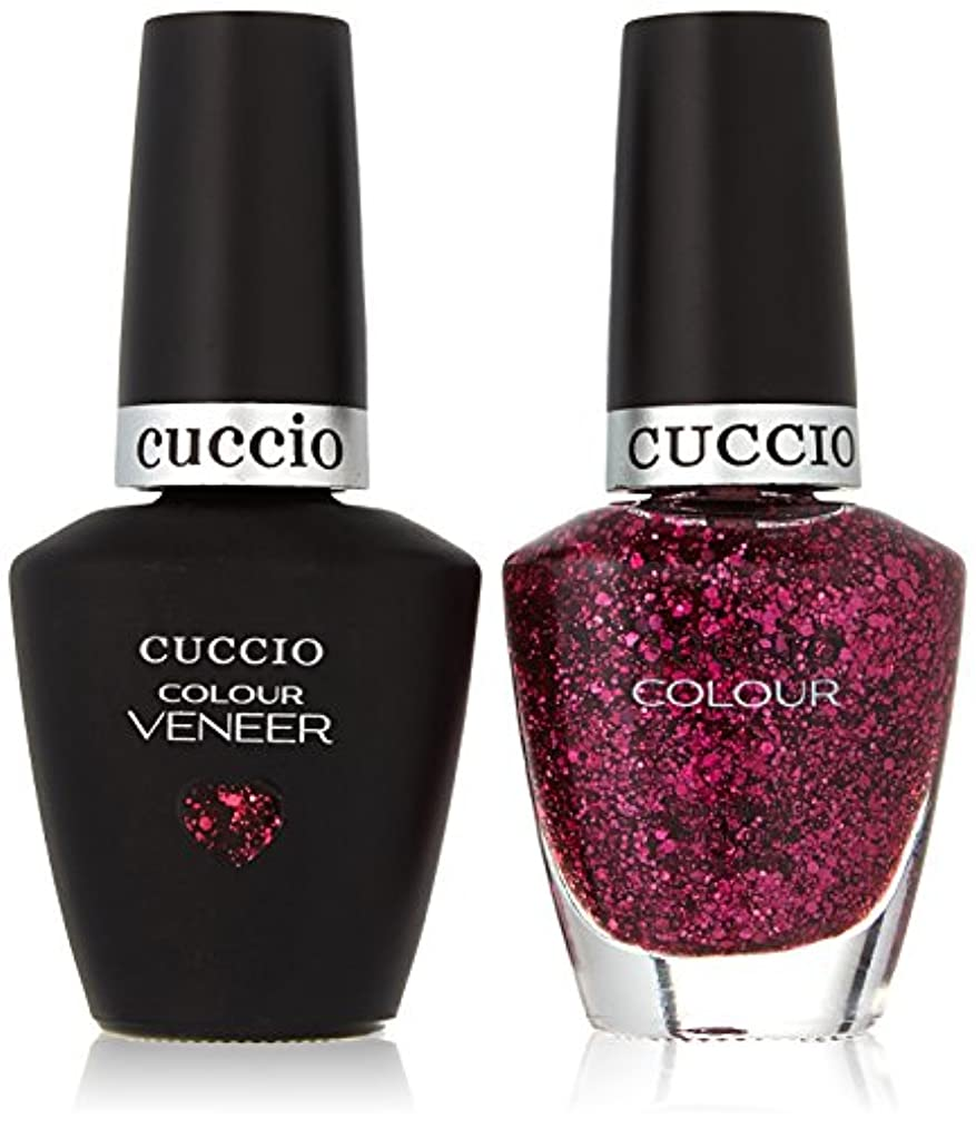 スワップ盆地歯車Cuccio MatchMakers Veneer & Lacquer - Fever of Love - 0.43oz/13ml Each