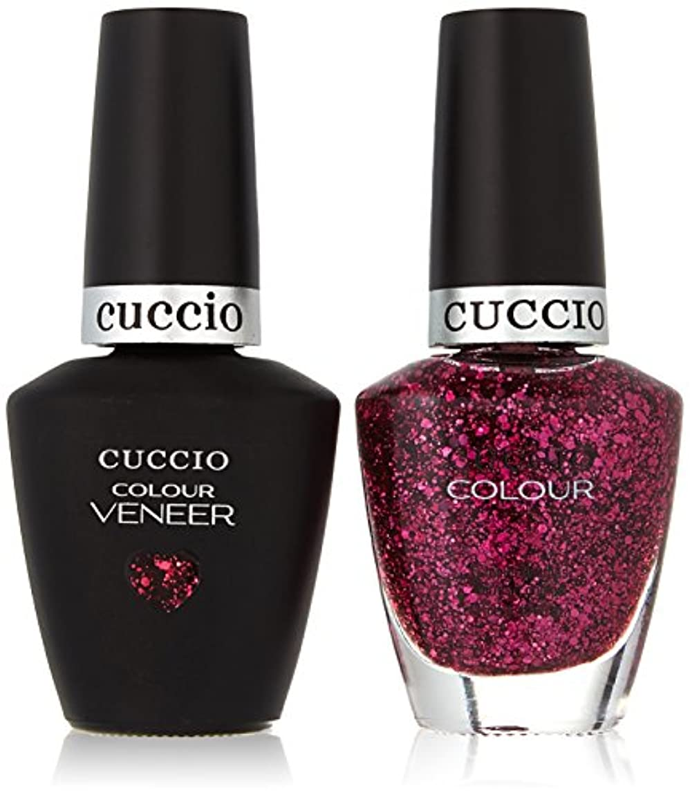 警察署昼寝完全に乾くCuccio MatchMakers Veneer & Lacquer - Fever of Love - 0.43oz/13ml Each