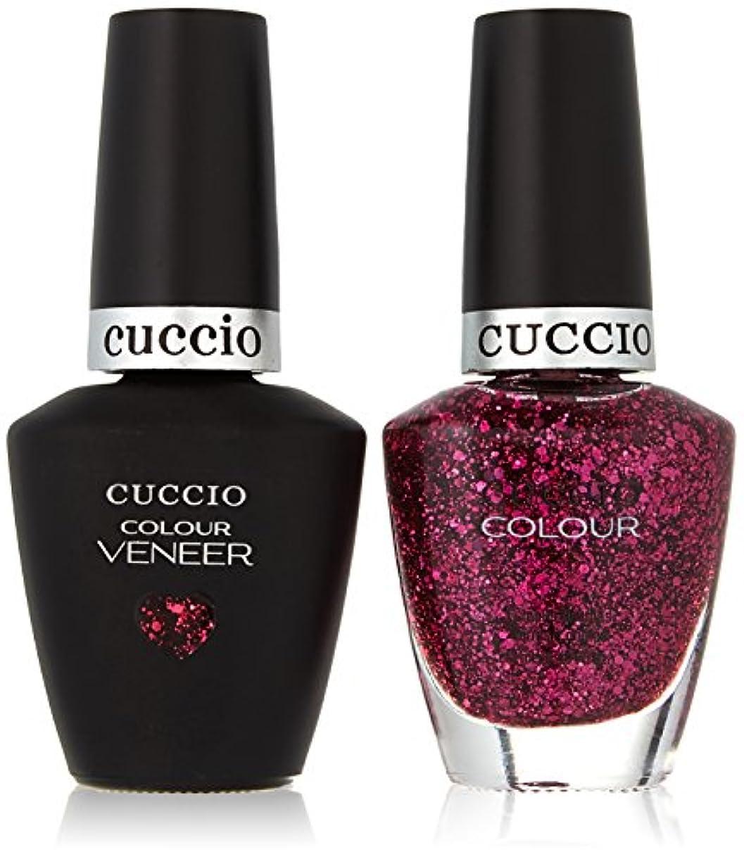 希望に満ちたサイドボード決定Cuccio MatchMakers Veneer & Lacquer - Fever of Love - 0.43oz/13ml Each