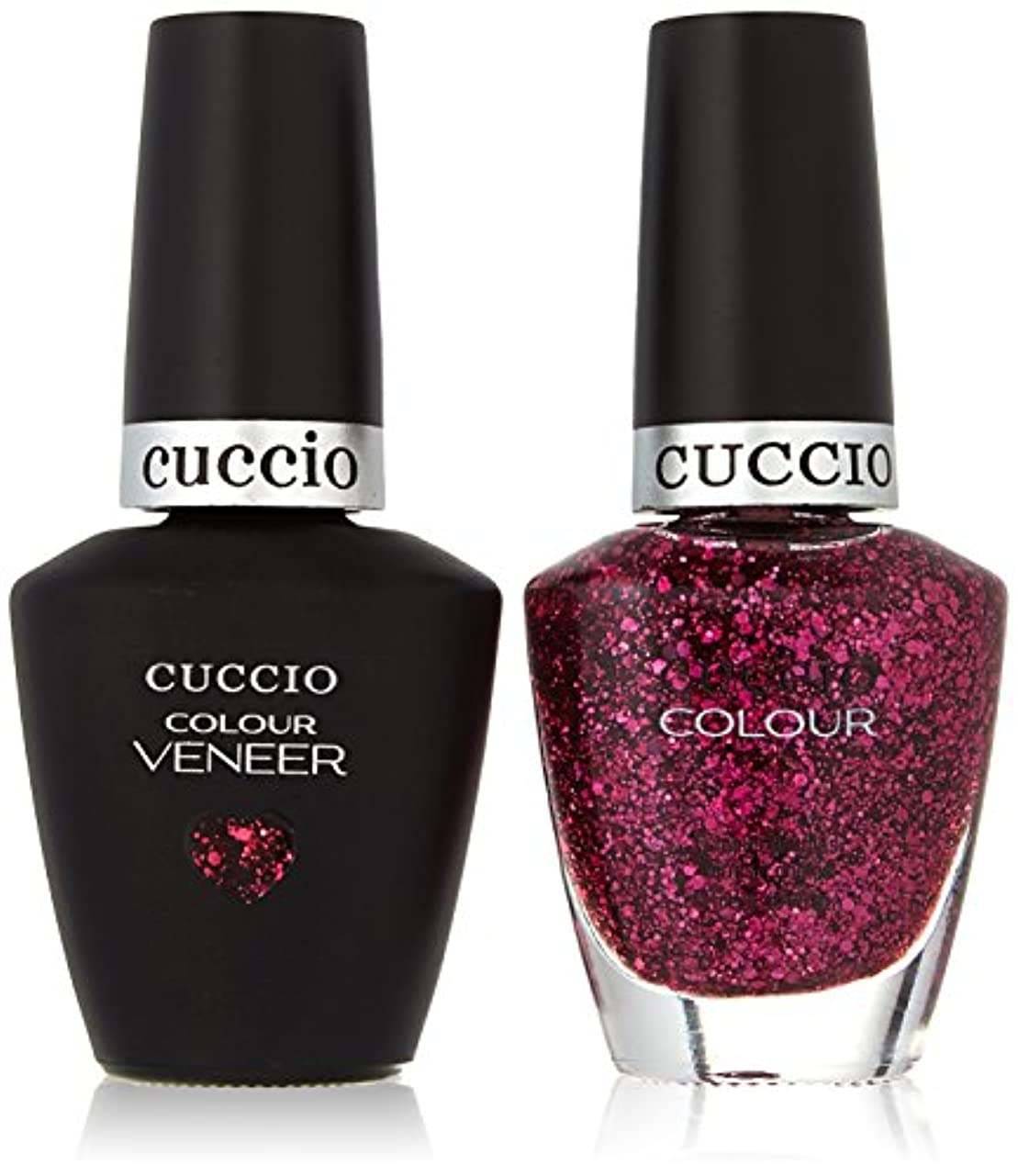 オーロック絡まるおもてなしCuccio MatchMakers Veneer & Lacquer - Fever of Love - 0.43oz/13ml Each
